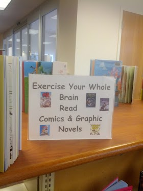 Exercise Your Whole Brain: Read Comics and Graphic Novels